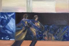 Ballerinas on the Horizon Line. 24 x 30 cm.